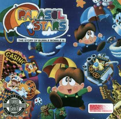Misc. Games - Parasol Stars: The Story of Rainbow Islands 2