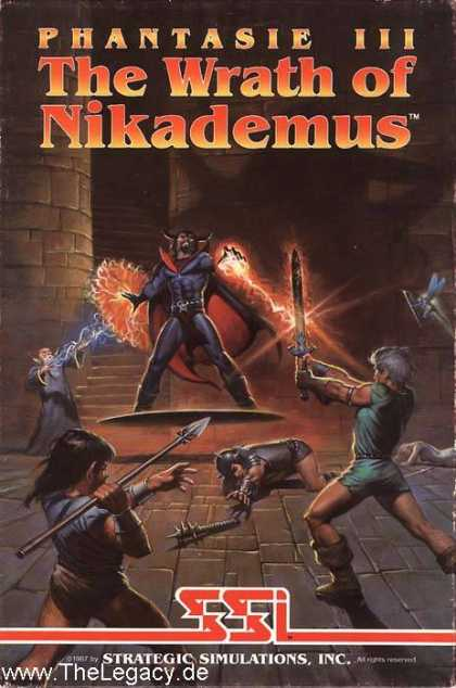 Misc. Games - Phantasie III: The Wrath of Nikademus