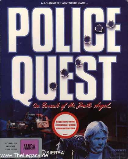 Misc. Games - Police Quest: In Pursuit of the Death Angel