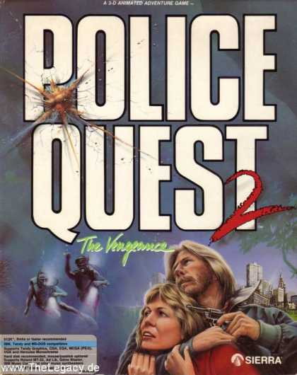 Misc. Games - Police Quest 2: The Vengeance