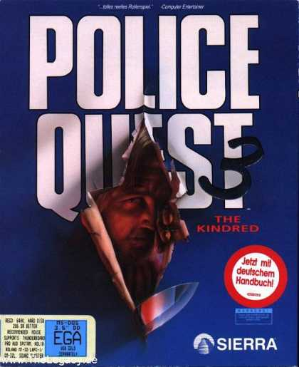 Misc. Games - Police Quest 3: The Kindred