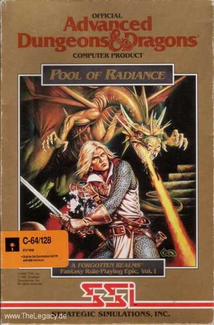 Misc. Games - Pool of Radiance