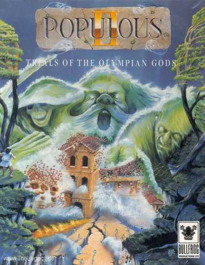 Misc. Games - Populous II: Trials of the Olympian Gods