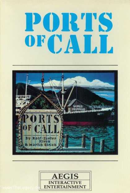 Misc. Games - Ports of Call: The Maritime Simulation Game