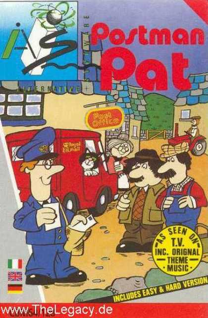 Misc. Games - PostMan Pat - The Computer Game