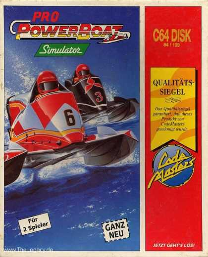 Misc. Games - Pro Powerboat Simulator