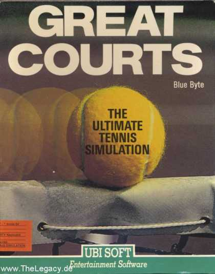Misc. Games - Great Courts: The Ultimate Tennis Simulation