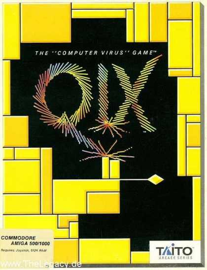 Misc. Games - Qix: The Computer Virus Game