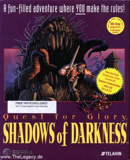 Misc. Games - Quest for Glory: Shadows of Darkness