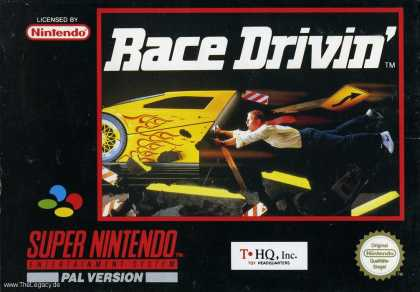 Misc. Games - Race Drivin'