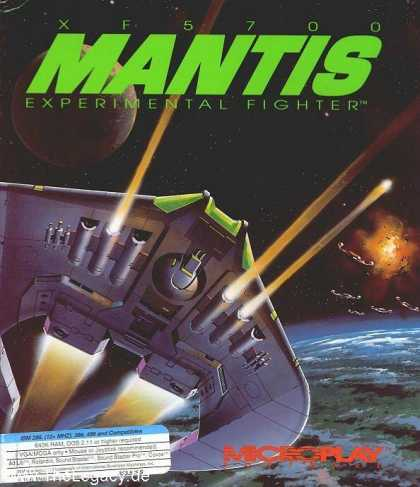 Misc. Games - Mantis: XF5700 Experimental Fighter
