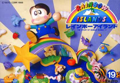 Misc. Games - Rainbow Islands: The Story of Bubble Bobble 2