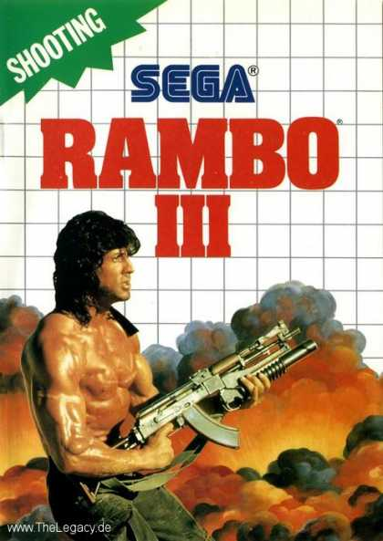 Misc. Games - Rambo III: The Rescue