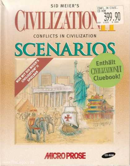 Misc. Games - Sid Meier's Civilization II: Conflicts in Civilization