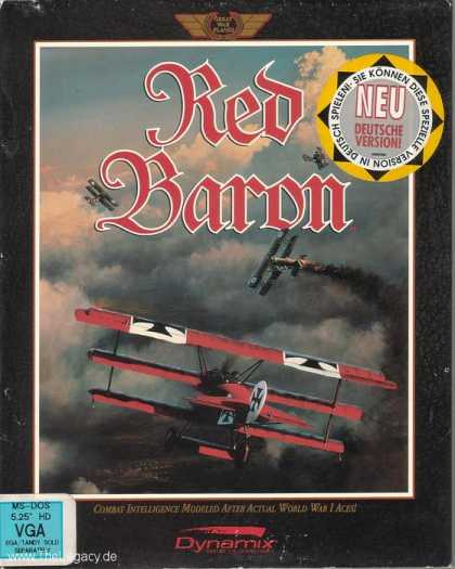 Misc. Games - Red Baron: World War I Dogfighting Action