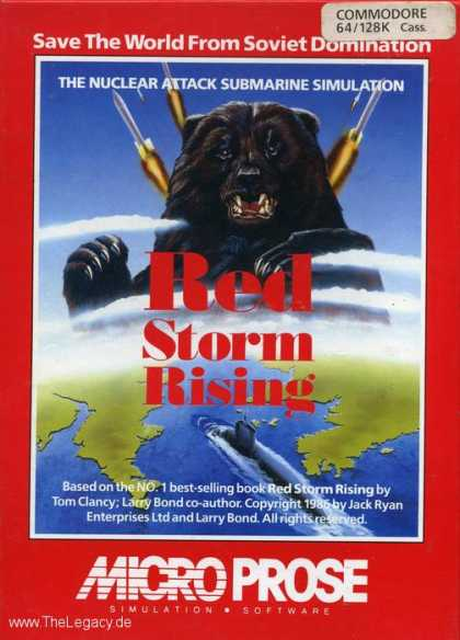 Misc. Games - Red Storm Rising