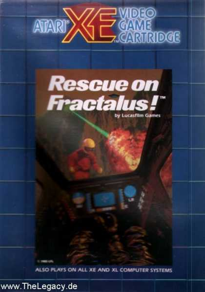 Misc. Games - Rescue on Fractalus!