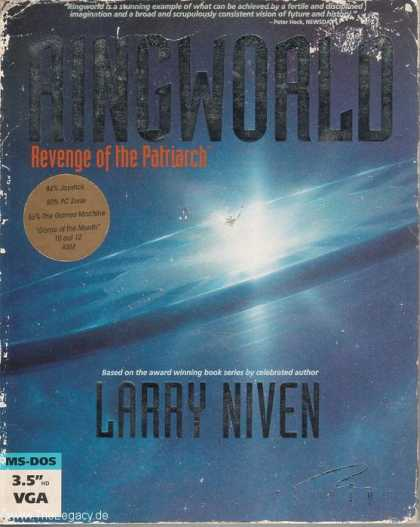 Misc. Games - Ringworld: Revenge of the Patriarch