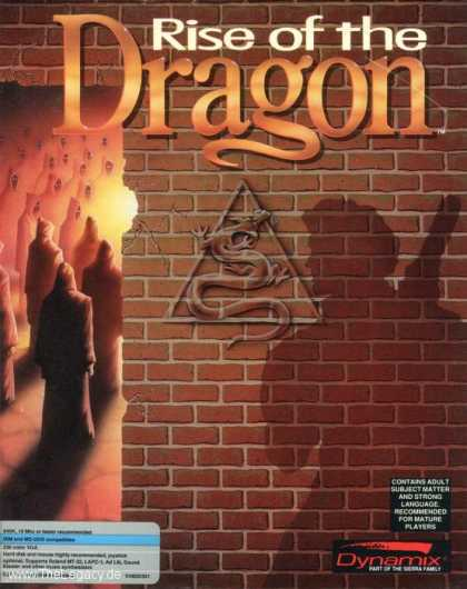 Misc. Games - Rise of the Dragon