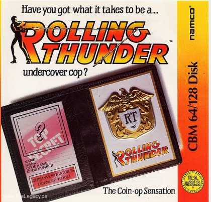 Misc. Games - Rolling Thunder
