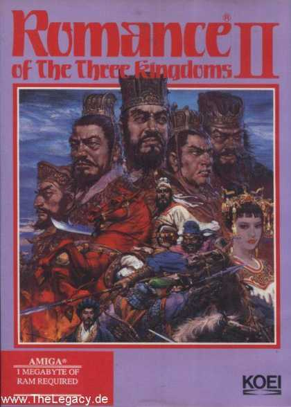 Misc. Games - Romance of the Three Kingdoms II