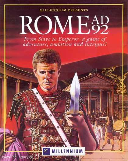 Misc. Games - Rome AD 92: The Pathway to Power