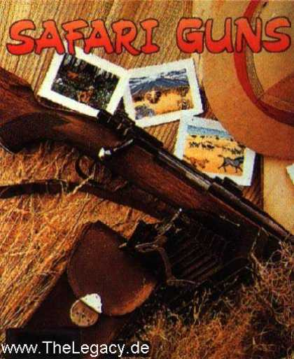 Misc. Games - Safari Guns