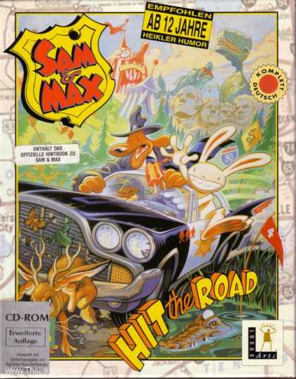 Misc. Games - Sam & Max: Hit the Road