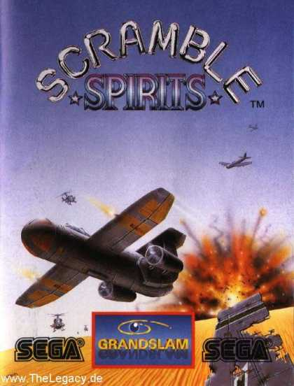 Misc. Games - Scramble Spirits
