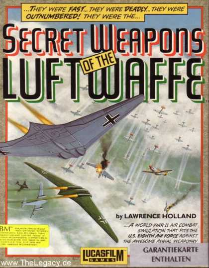 Misc. Games - Secret Weapons of the Luftwaffe
