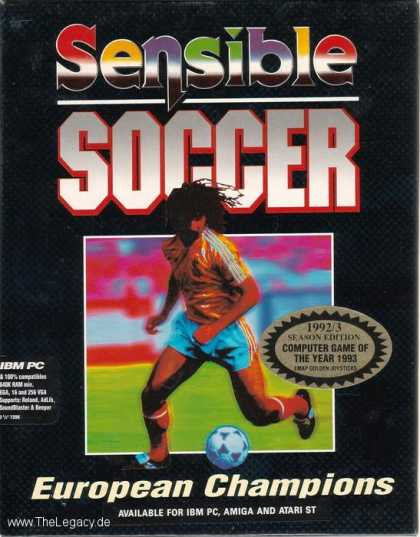 Misc. Games - Sensible Soccer: European Champions - 92/93 Edition