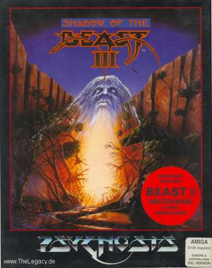 Misc. Games - Shadow of the Beast III: Out of the Shadow!