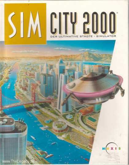 Misc. Games - Sim City 2000