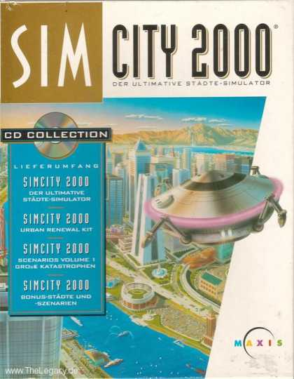 Misc. Games - Sim City 2000: CD Collection