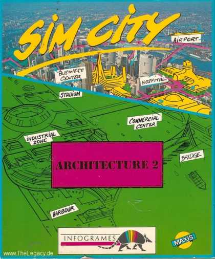 Misc. Games - Sim City: Architecture 2 - Ancient Cities