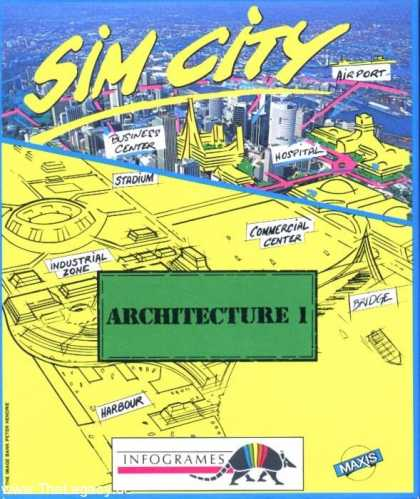 Misc. Games - Sim City: Architecture 1 - Future Cities