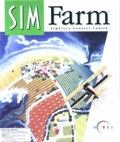 Misc. Games - Sim Farm: Sim City's Country Cousin