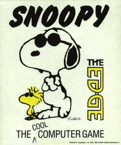 Misc. Games - Snoopy: The Cool Computer Game