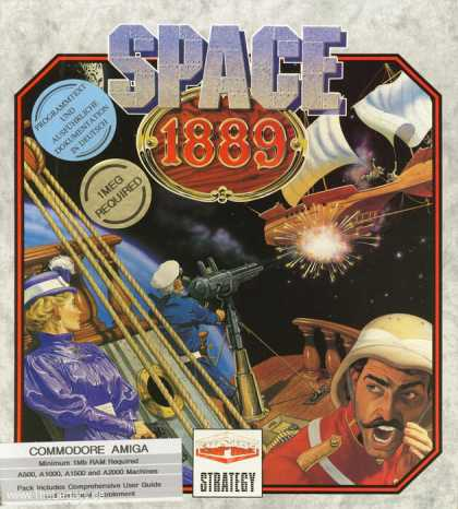 Misc. Games - Space 1889