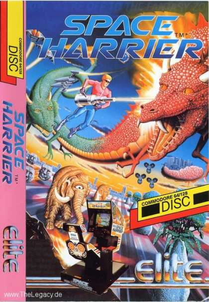 Misc. Games - Space Harrier