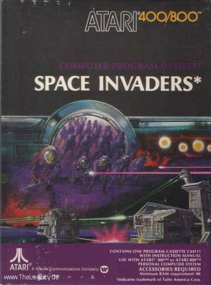 Misc. Games - Space Invaders