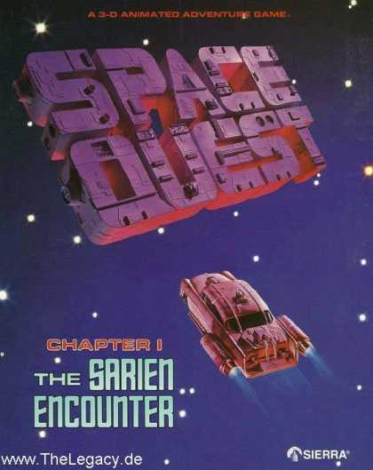 Misc. Games - Space Quest: Chapter I - The Sarien Encounter