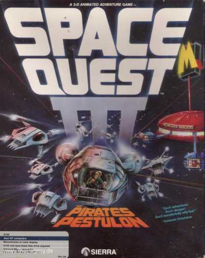 Misc. Games - Space Quest III: The Pirates of Pestulon
