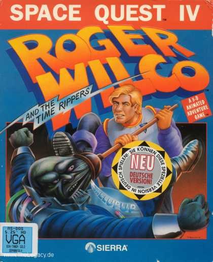 Misc. Games - Space Quest IV: Roger Wilco and the Time Rippers