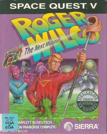 Misc. Games - Space Quest V: Roger Wilco - The Next Mutation