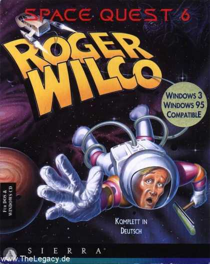 Misc. Games - Space Quest 6: Roger Wilco in the Spinal Frontier