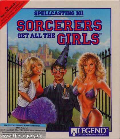 Misc. Games - Spellcasting 101: Sorcerers get all the Girls