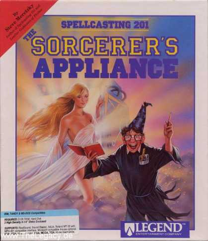 Misc. Games - Spellcasting 201: The Sorcerer's Appliance