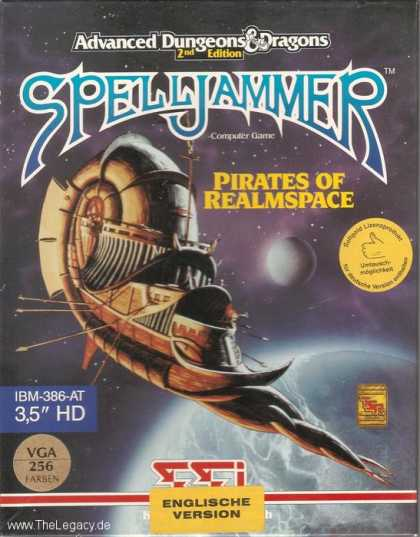 Misc. Games - Spelljammer: Pirates of Realmspace