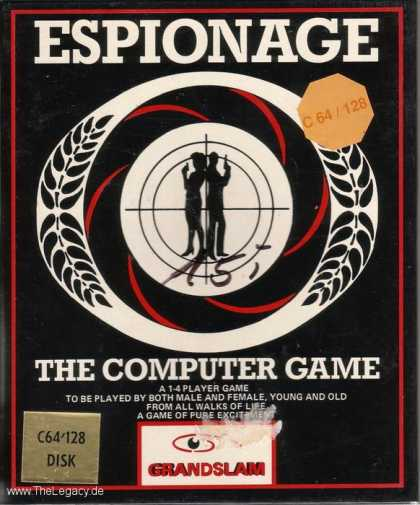 Misc. Games - Espionage: The Computer Game